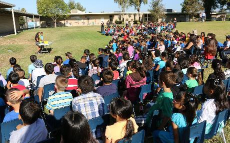 Reading Rally at Berylwood Elementary School