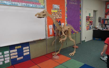 Dinosaur Dig for Second Grade at White Oak Elementary School