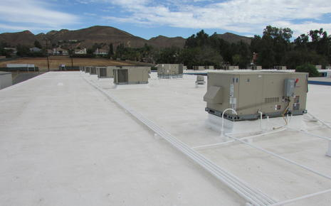 Valley View MS - New Roofing and New HVAC