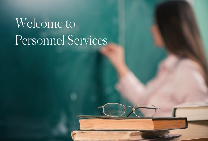 Welcome to Personnel Services